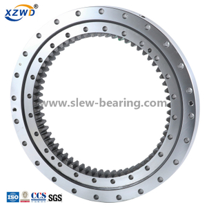 Single Row Four Point Contact Ball (01) Internal Gear welding turntable Slewing Bearing manufacturer