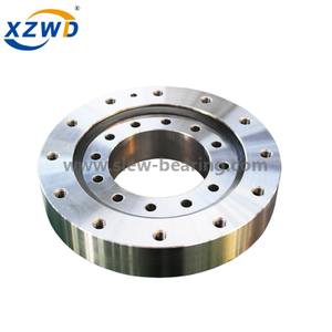 Light Duty Four Point Contact Ball Nongeared Precision Slewing Ring Bearing