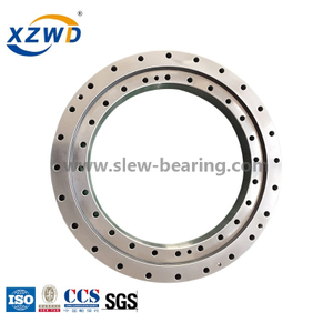 Nongeared Four Point Contact Slewing Bearing for Gearless Solar Tracker