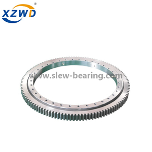 Light Weight Ball Slewing Bearing with External Gear for Aerial Lifts