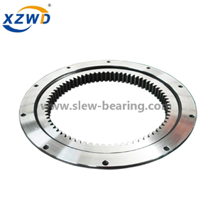 Light Weight Flanged Internal Gear Slewing Ring Bearing for Welding Positioner