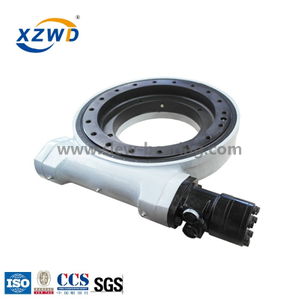 China manufacturer hot sale Enclosed housing heavy duty big torque slew drive WEA17 for heavy machine