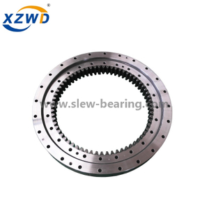 Small OEM Light slewing ring bearing with Internal gear used for tower crane